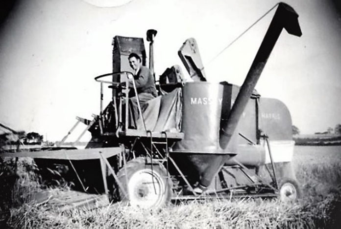 My Dad bringing in the harvest in 1964
