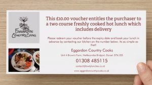 £10 gift voucher - Lovely Lunches