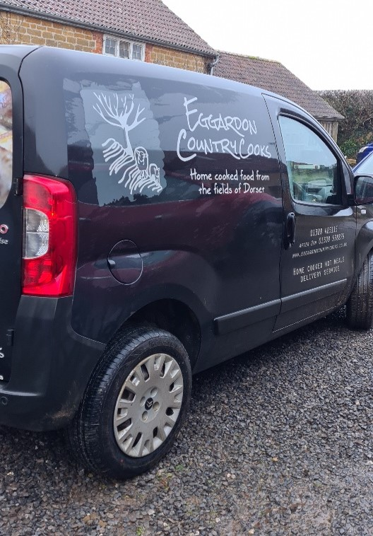 eggardon country cooks delivery van